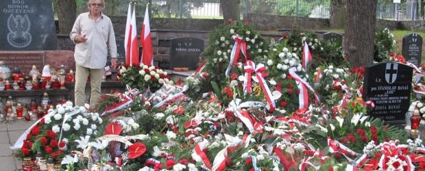 """Klub """"GP"""" Wiedeń na uroczystościach pogrzebowych w Gdańsku"""