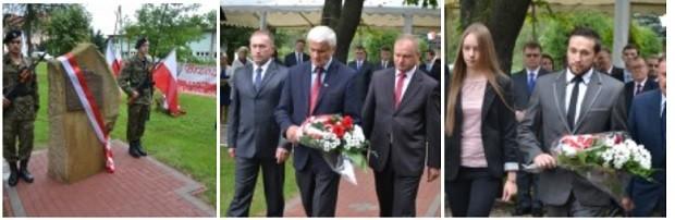 Odsłonięcie i poświęcenie tablicy upamiętniającej Prezydenta RP Lecha Kaczyńskiego i pozostałe ofiary katastrofy lotniczej pod Smoleńskiem w dniu 10.04.2010 roku