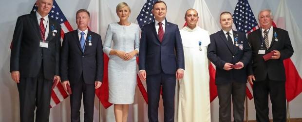 Prezydent odznaczył szefa Klubu Gazety Polskiej w Filadelfii
