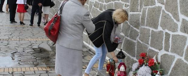 Konin: miesięcznica tragedii smoleńskiej, 10 maja 2016 r.