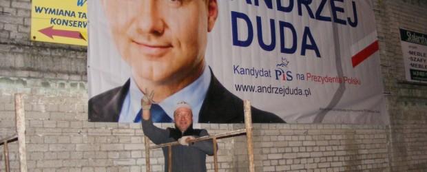 Akcja banerowa w Krzywiniu