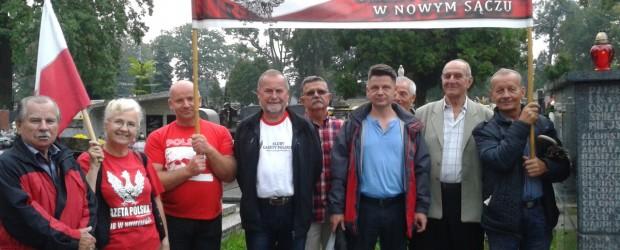 Nowy Sącz:  upamiętnienie 77 rocznicy napadu Rosji sowieckiej na Polskę
