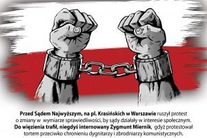 Adam Słomka: RP kontra popłuczyny PRL / list do prof. Gersdorf o miasteczku UWOLNIĆ MIERNIKA ZAMKNĄĆ MICHNIKA