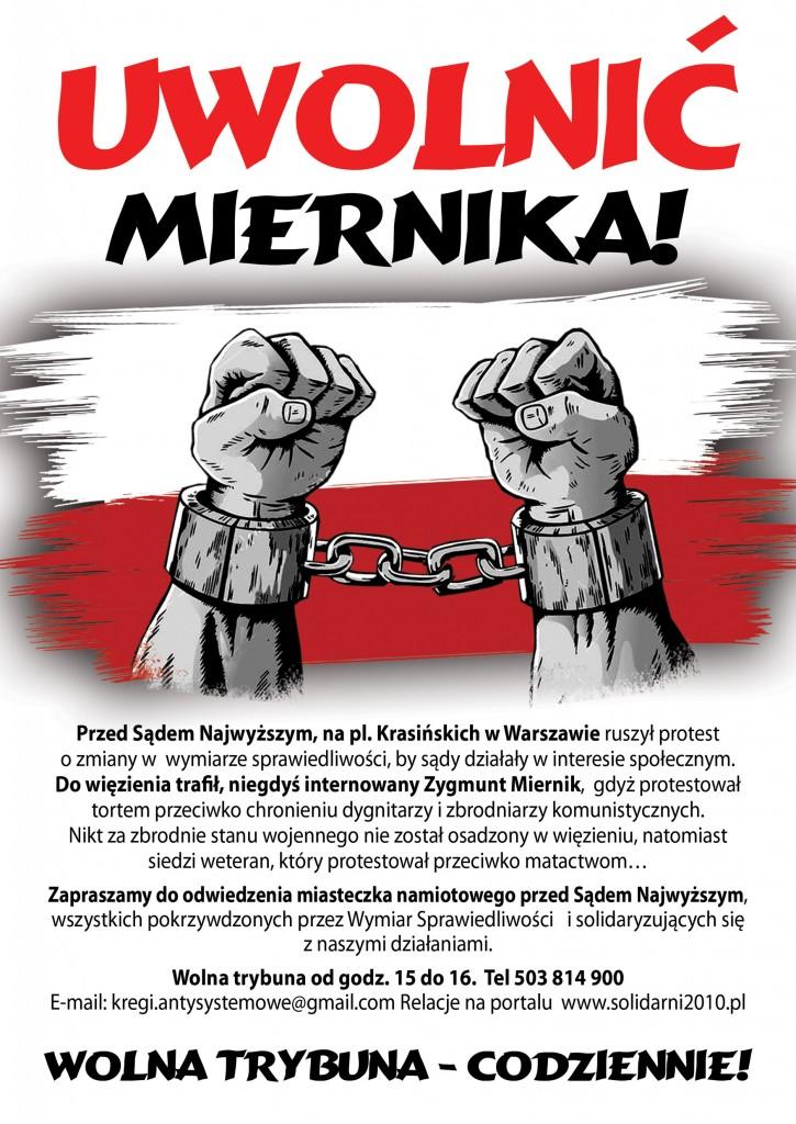 plakat_uwolnić Miernika (1)