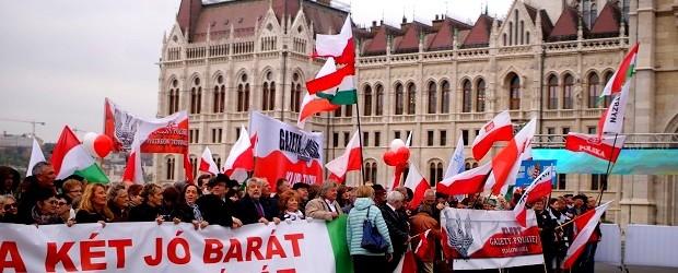 FOTORELACJA – Uroczystości 23 października w Budapeszcie (wideo)