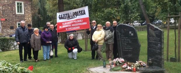"""Członkowie Klubu """"GP"""" w Chrzanowie kolejny raz uczcili pamięć Ofiar smoleńskiej tragedii"""