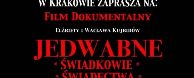 """Kraków – projekcja filmu dokumentalnego pt. """"Jedwabne. Świadkowie, świadectwa, fakty"""" oraz spotkanie z autorami Elżbietą i Wacławem Kujbidami,   3 października"""