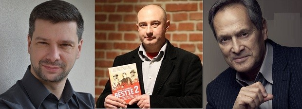 Kraków: Najbliższe spotkania z Filipem Musiałem (26 X), Tadeuszem Płużańskim, Ireneuszem Lisiakiem (27 X), Jerzym Zelnikiem (28 X)