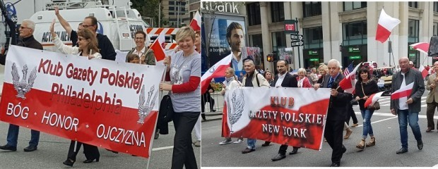 Kluby GP w Paradzie Pułaskiego w Nowym Jorku i w Filadelfii