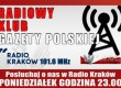 """""""Radiowy Klub Gazety Polskiej"""" – 3 października o godzinie 23.00"""
