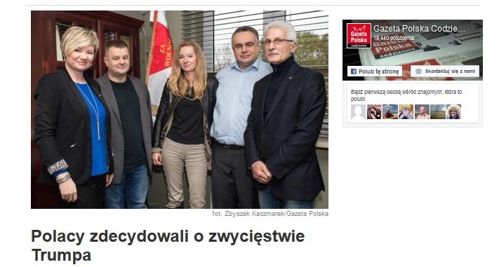 Źródło: Print-Screen Gazeta Polska Codziennie