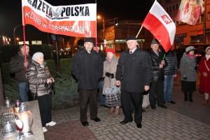 Garwolin: Miesięcznica tragedii smoleńskiej w listopadzie