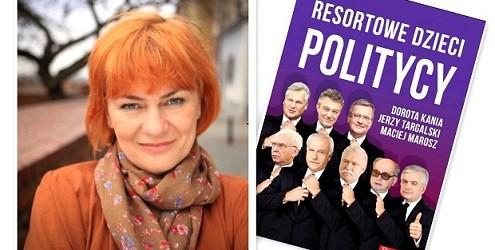 """Sulejówek – spotkanie autorskie red. Doroty Kani promujące książkę pt. """" Resortowe Dzieci. Politycy"""",  3 grudnia"""