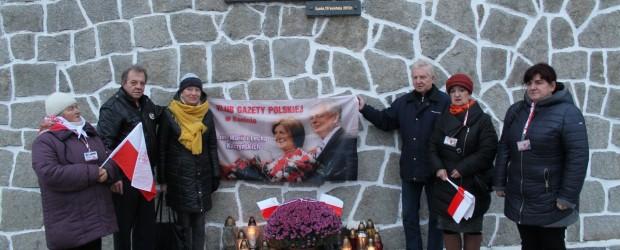 Konin: miesięcznica tragedii smoleńskiej 10.11.2016
