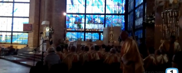 Zakończenie Roku Miłosierdzia Bożego w Rypinie (stream1)