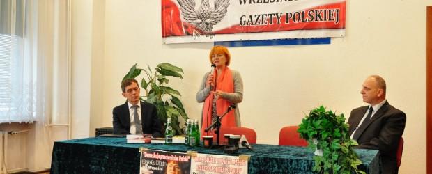 """Września: red. Dorota Kania z promocją książki """"Resortowe dzieci. Politycy."""""""