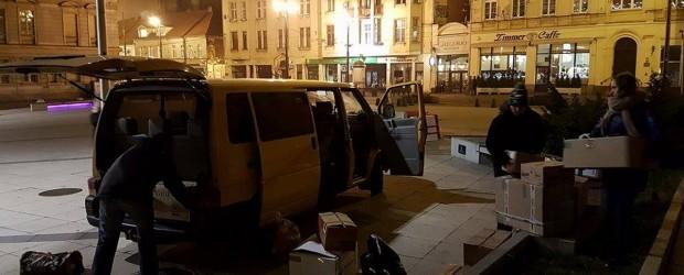 Już jadą !!! – wyruszył z Bydgoszczy transport z darami dla polskich dzieci i ich rodzin z Białorusi