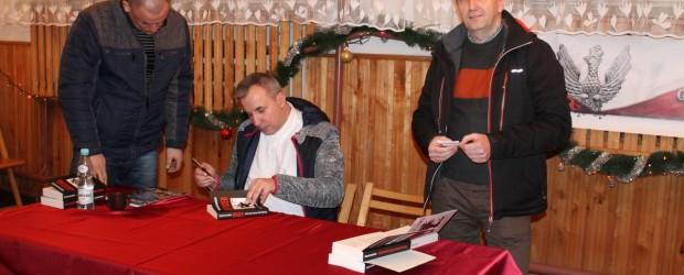 Wojciech Sumliński na spotkaniu w Gorzycach