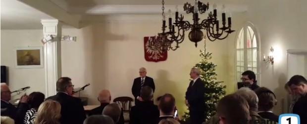 MSZ Witold Waszczykowski w Hamburgu (wideo)