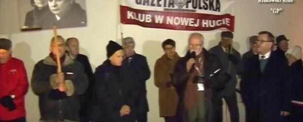 80. Miesięcznica Smoleńska w Krakowie (wideo)