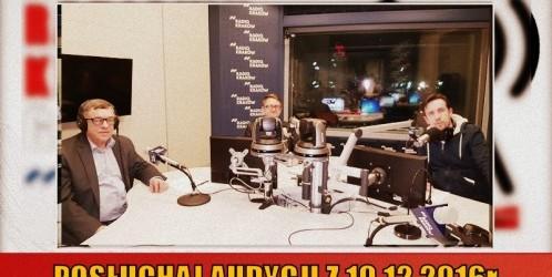 """POSŁUCHAJ AUDYCJI: """"Radiowy Klub Gazety Polskiej"""" – 19.12.2016 r. (audio)"""