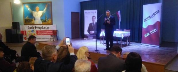 RODZINA – METROPOLIA – POLSKA: wiceminister sprawiedliwości Michał Wójcik w Tychach