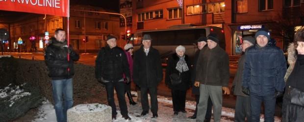 Garwolin: miesięcznica tragedii smoleńskiej, 10 stycznia