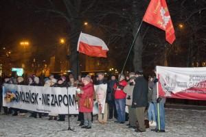 Poznań: 81 miesięcznica Smoleńska