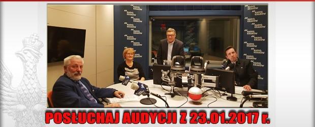 """POSŁUCHAJ AUDYCJI: """"Radiowy Klub Gazety Polskiej"""" – 23.01.2017 r. (audio)"""