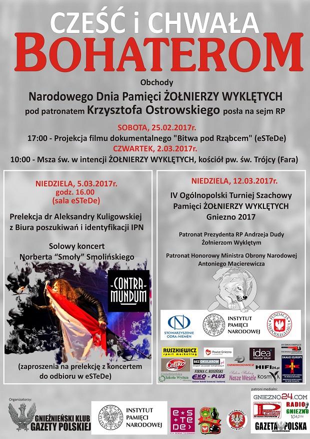 Kluby Gazety Polskiej Gniezno Obchody Dnia żołnierzy Wyklętych