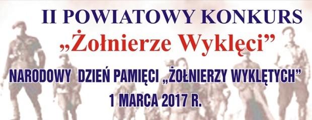 Góra Śląska: II Powiatowy Konkurs Żołnierze Wyklęci