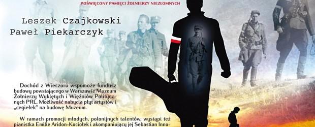 """Paryż – koncert pt. """"Podziemna Armia Powraca"""" L. Czajkowskiego oraz P. Piekarczyka, 25 marca"""