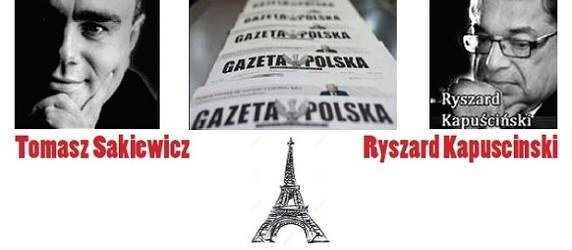 """Paryż: spotkanie z red. nacz. """"GP"""" T. Sakiewiczem oraz prezesem Klubów """"GP"""" R. Kapuścińskim, 26 marca"""