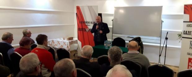 Łochów: Spotkanie z Panem Tadeuszem Płużańskim