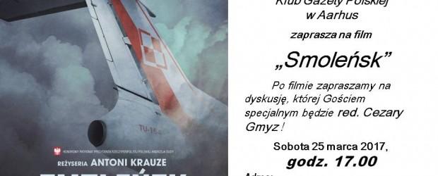 """Aarhus – projekcja film pt. """"Smoleńsk"""" reż Antoni Krauze, 25 marca"""