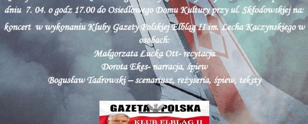 Iława – Misterium Smoleńskie, 7 kwietnia,