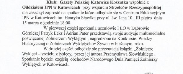 Katowice – Koszutka: spotkanie patriotyczne