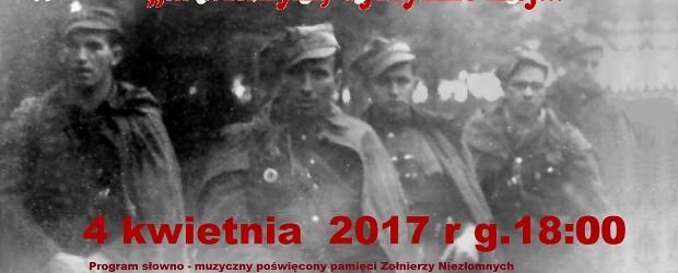 Łowicz – program słowno-muzyczny poświęcony pamięci Żołnierzy Niezłomnych, 4 kwietnia