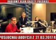 """POSŁUCHAJ AUDYCJI: """"Radiowy Klub Gazety Polskiej"""" – 27.03.2017 r. (audio)"""