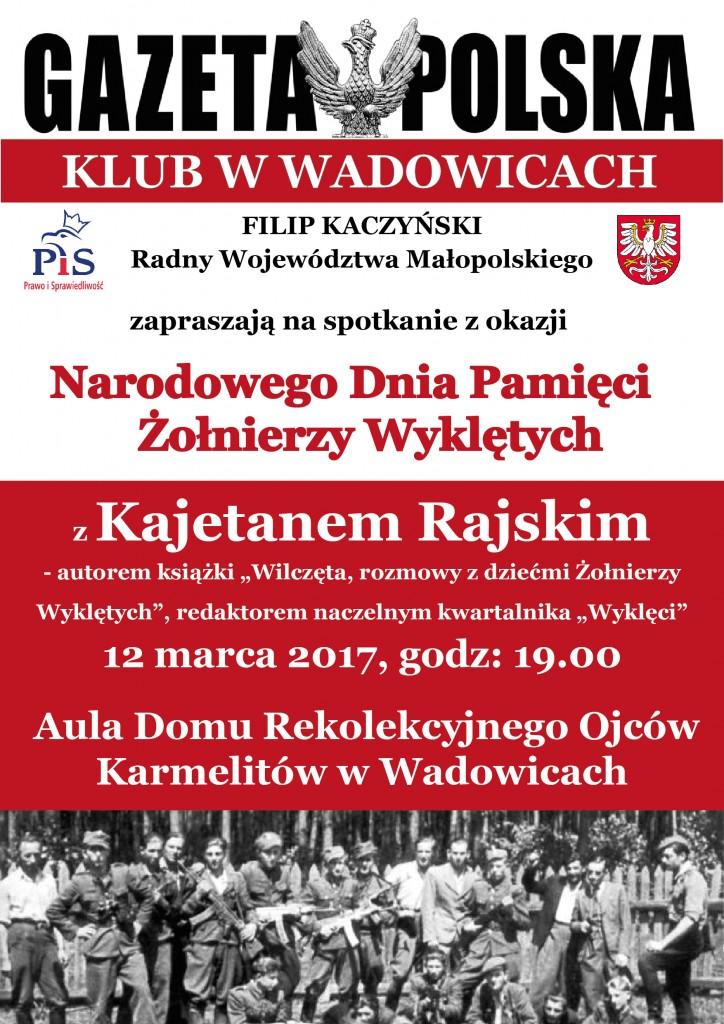 Wadowice Kajetan Rajski 2017