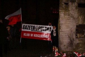 Koszalin: 83 Miesięcznica Tragedii Smoleńskiej