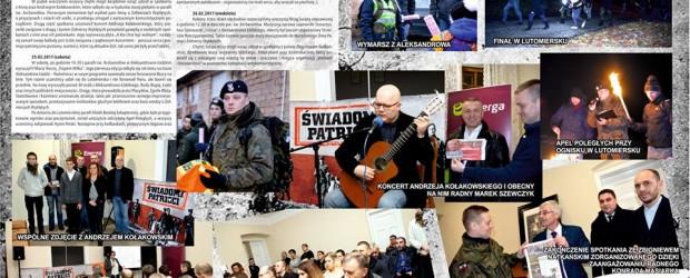 Aleksandrów Łódzki: Obchody Narodowe Dni Pamięci Żołnierzy Wyklętych (wideo)