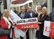 Delegacja Klubu GP Hamburg na uroczystościach 7 rocznicy katastrofy smoleńskiej.