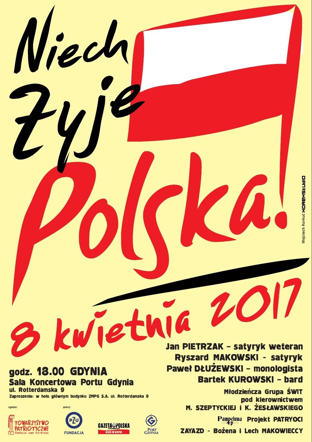 Gdynia koncert Pietrzaka 2017