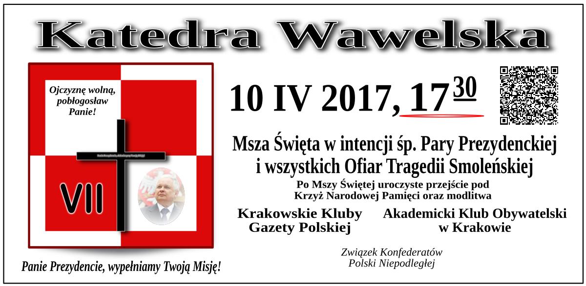 Krakow - 10 kwietnia 2017