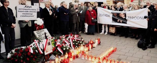 7. rocznica Tragedii Smoleńskiej w Krakowie (wideo)