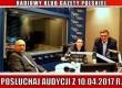 """POSŁUCHAJ AUDYCJI: """"Radiowy Klub Gazety Polskiej"""" – 10.04.2017 r. (audio)"""