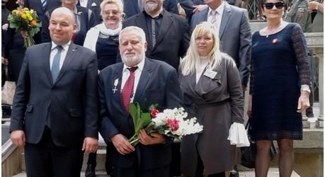 Wiedeń II – Przewodniczący Klubu GP odznaczony Krzyżem Wolności i Solidarności
