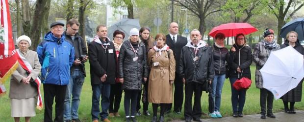 Konin – Uroczystości na Skwerze Ofiar Zbrodni Katyńskiej