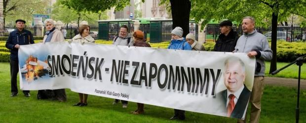 Poznań: Zaproszenie na obchody smoleńskie.